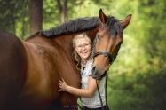 Pferd Wald